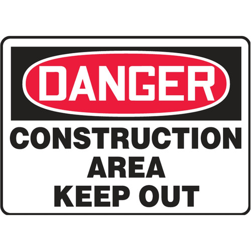 Danger Sign (Construction Area - Keep Out)