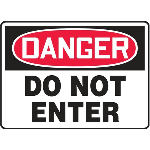 Danger Sign (Do Not Enter)
