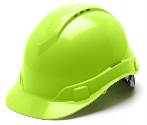 Ridgeline Hard Hat, Vented (Hi-Viz)