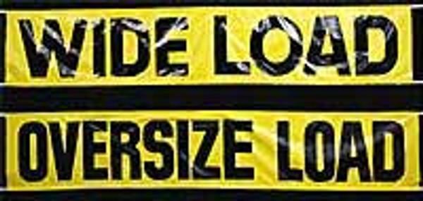 Wide Load/Oversize Load Banner