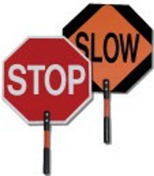 """18"""" Stop/Slow Paddle, Non Reflective"""