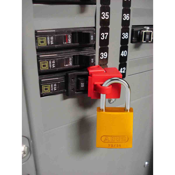 Brady Clamp-On Breaker Lockout, 480/660V