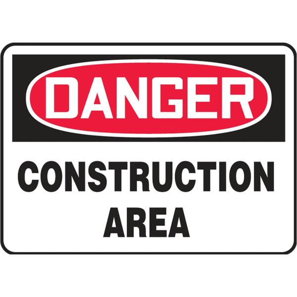 Danger Sign (Construction Area)