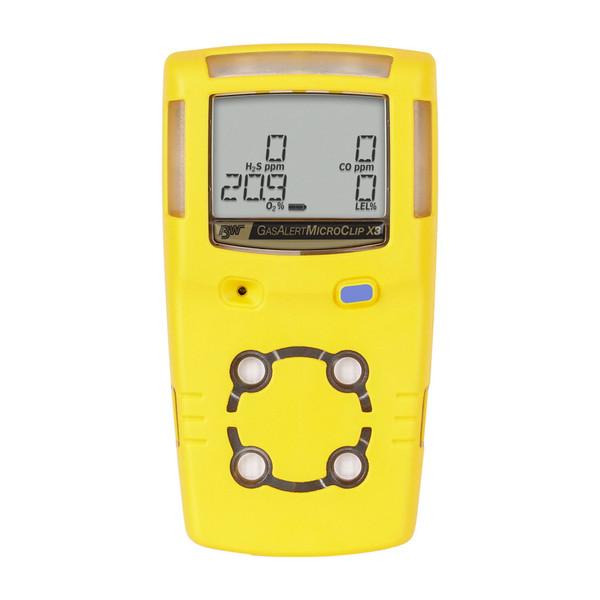 MicroClip X3, 4-Gas Monitor