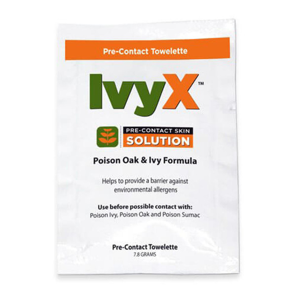 IvyX Pre-Contact Barrier Towelettes