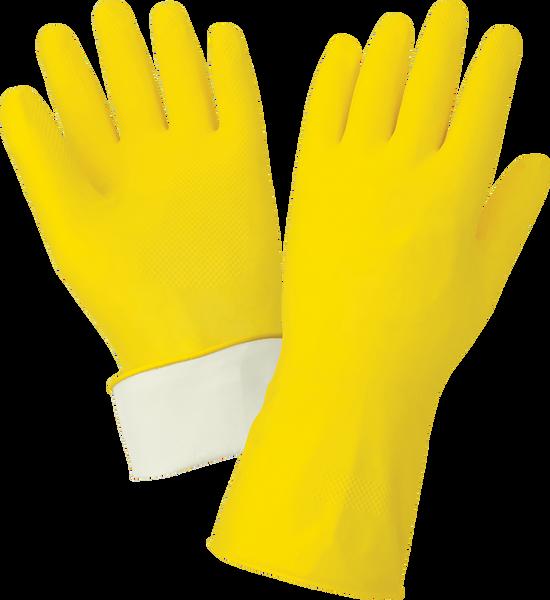 """Yellow Latex Glove (12"""")"""