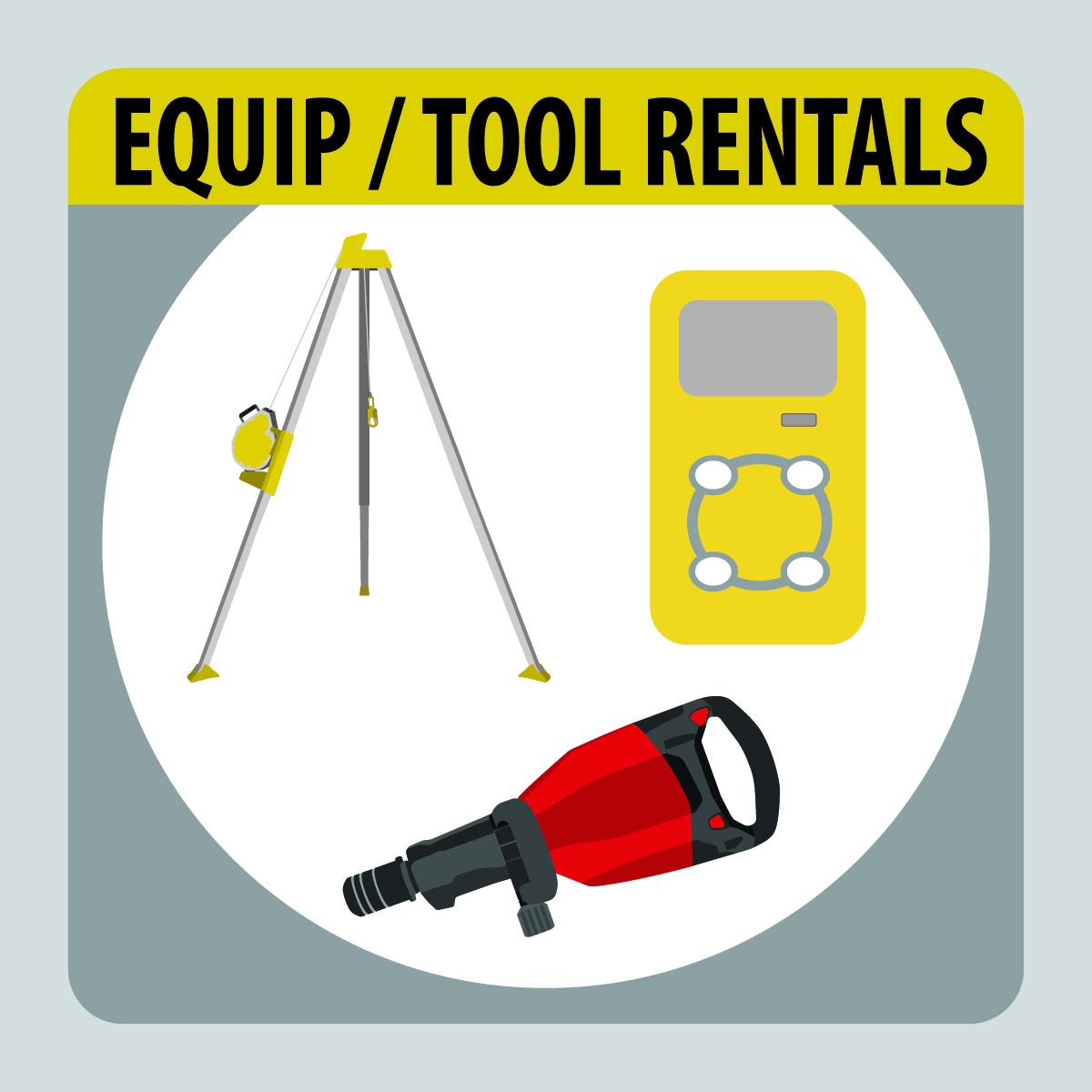 Equip / Tool Rental