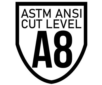 ANSI Cut Level A8