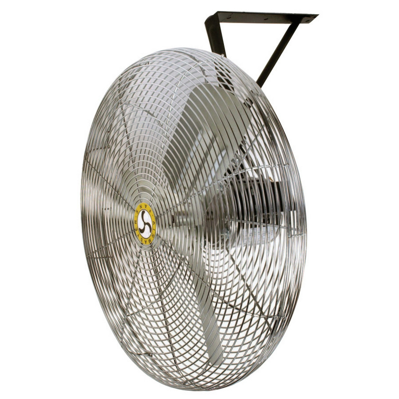 AIRMASTER 063-715731/8 hp, 3-Speed Commercial Non-Oscillating Air  Circulator, Wall/Ceiling, 30 in, 1/4 hp, 3-Speed