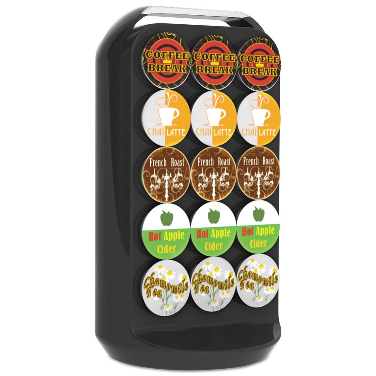 Mind Reader 11-Compartment Coffee Condiment Organizer 18 1//4 x 6 5//8 x 9 7//8