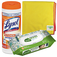 Hand Wipes & Rags