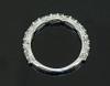 SIM10159 DIAMOND WEDDING RING PROFILE