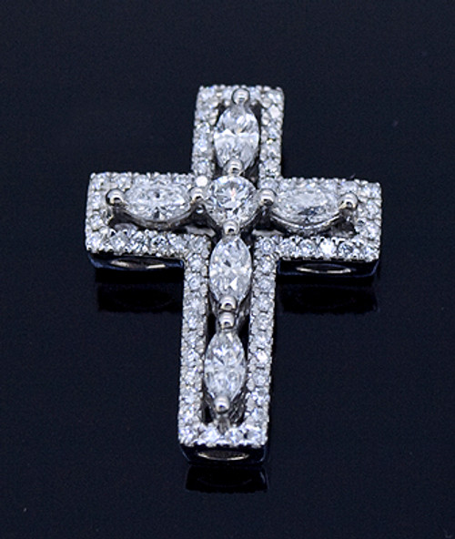 GBC12057 .75ct Diamond Cross