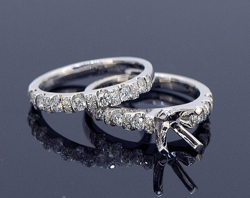 GBC12079 Classic Diamond Bridal Set