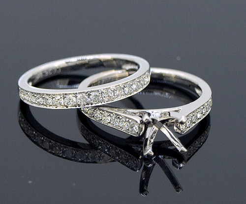 GBC12091 Classic Diamond Bridal Set