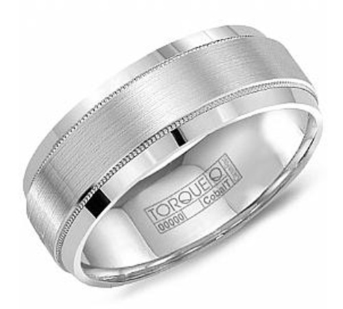 CB-8108 Torque Cobalt Wedding Ring