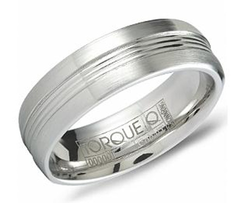 CB-7130 Torque Cobalt Wedding Ring