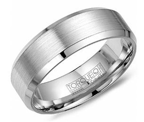 CB-7146 Torque Cobalt Wedding Ring