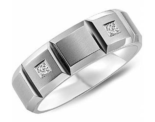 CB-2176 Torque Diamond Cobalt Wedding Ring