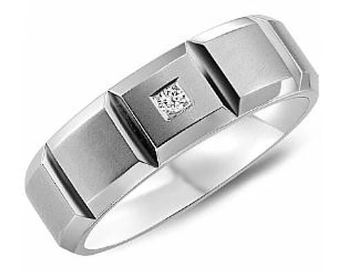 CB-9934 Torque Diamond Cobalt Wedding Ring