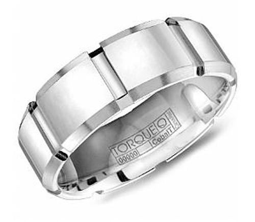 CB-7108 Torque Cobalt Wedding Ring