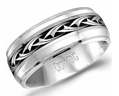CB-2109-43 Torque Cobalt Wedding Ring
