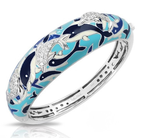 Belle Etoile Delfino Bangle Blue