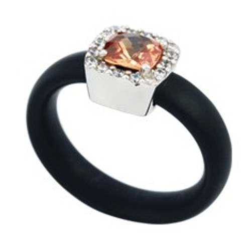 Belle Etoile Diana Ring Champagne/Black