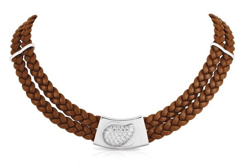 Belle Etoile Florence Necklace Brown