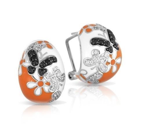 Belle Etoile Flutter Earrings Orange