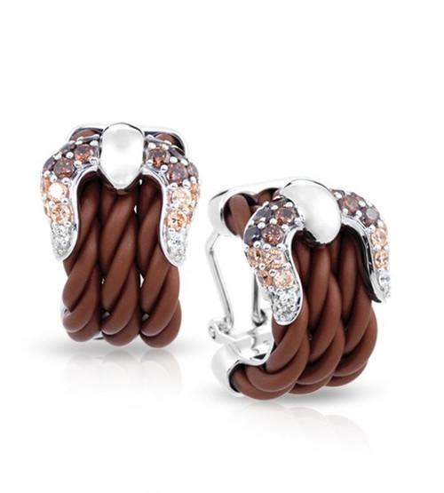 Belle Etoile Lasso Earrings Brown