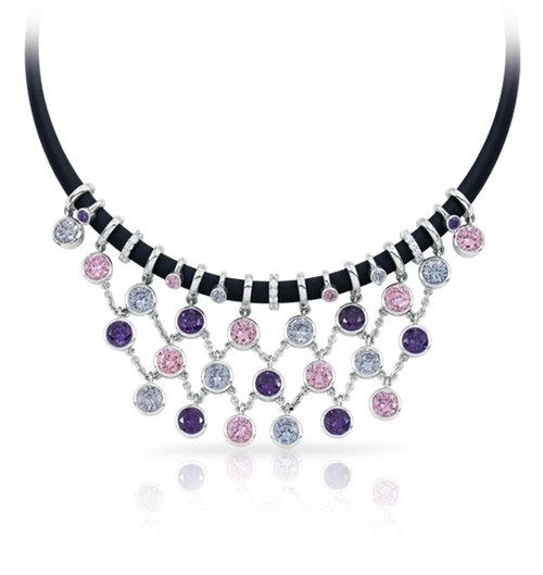 Belle Etoile Lattice Necklace Spring