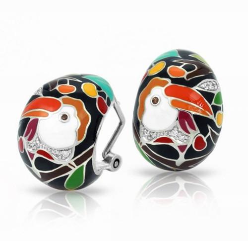 Belle Etoile Love Toucan Earrings