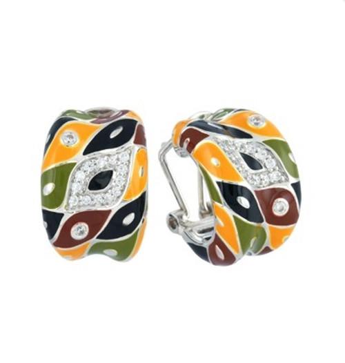Belle Etoile Pogona Earrings Earth