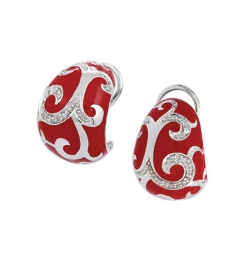 Belle Etoile Royale Earrings Red