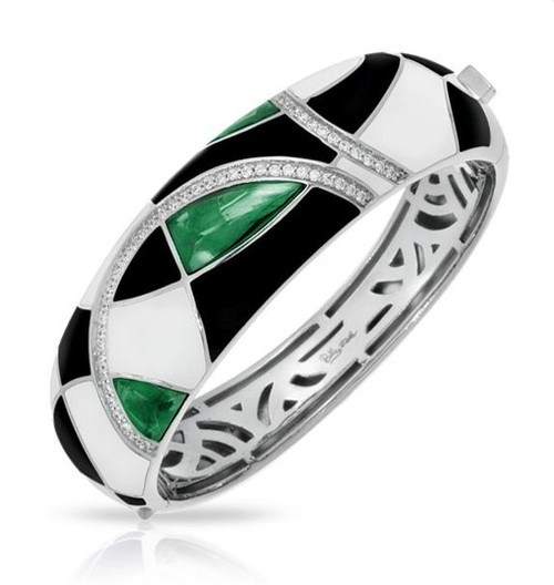 Belle Etoile Tango Bangle Emerald
