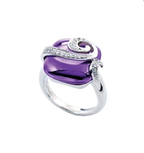 Belle Etoile Vigne Ring Amethyst
