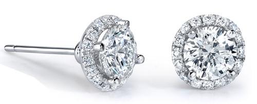 Martini Diamond Studs