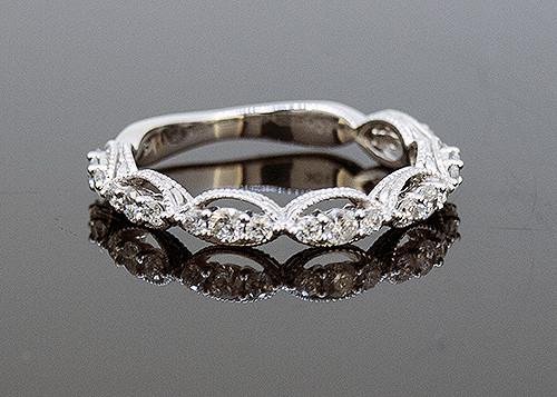 SIM10159 DIAMOND WEDDING RING
