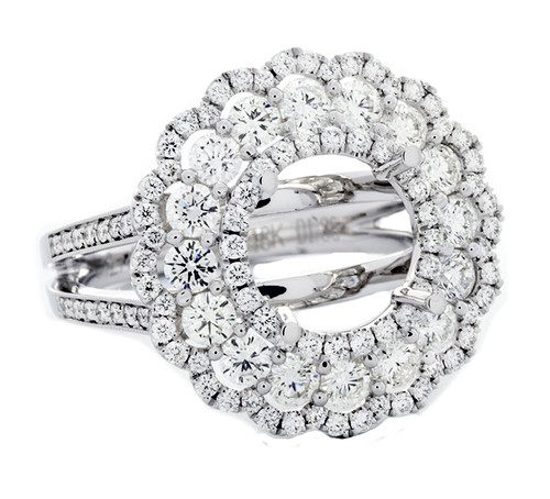 SIE10854 1.38CT DIAMOND SEMI MOUNT