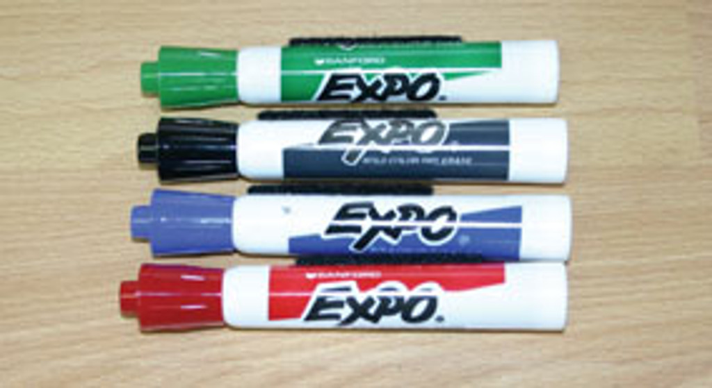 Bold Dry Erase Markers
