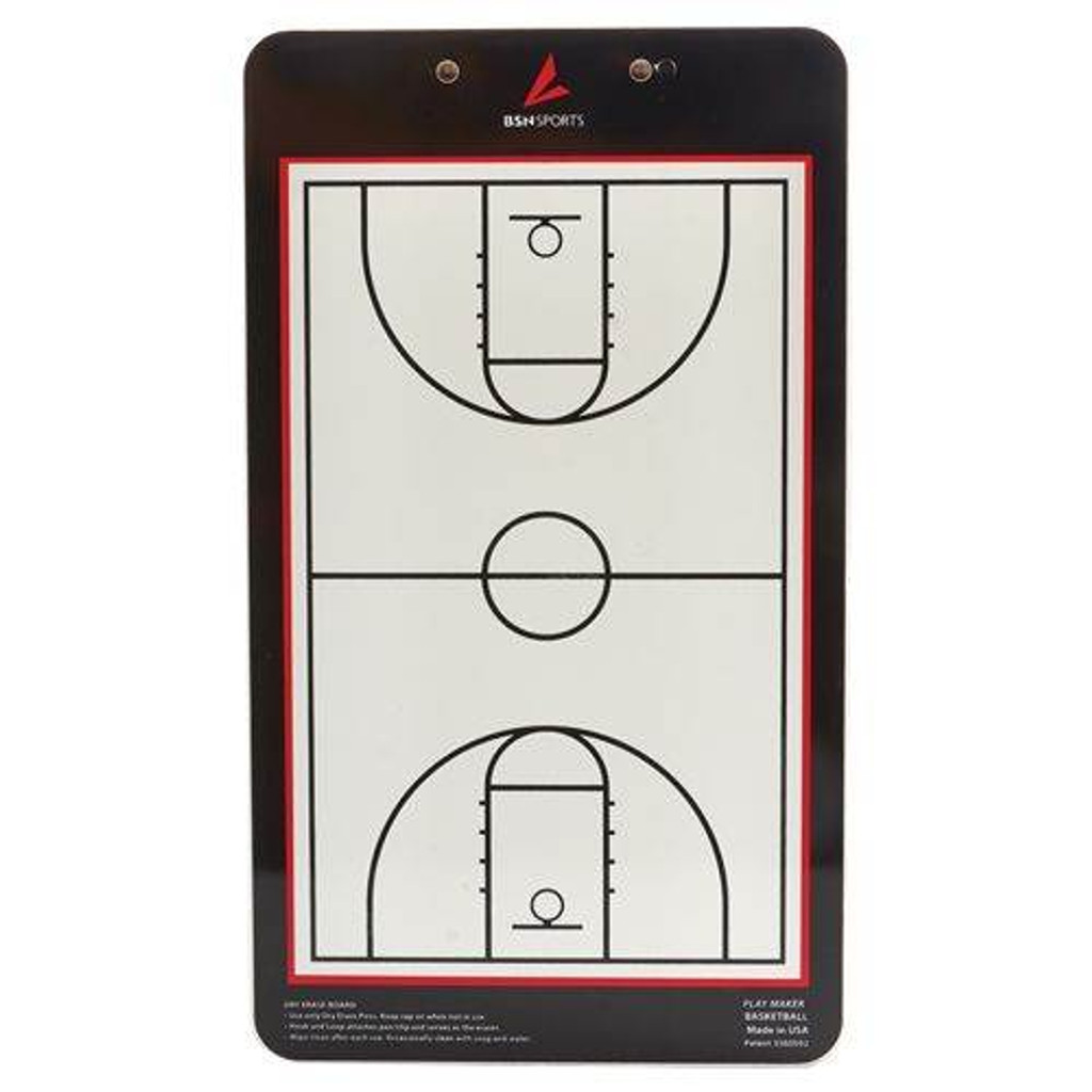 Double Sided Basketball Coaches Board - Reverse Side