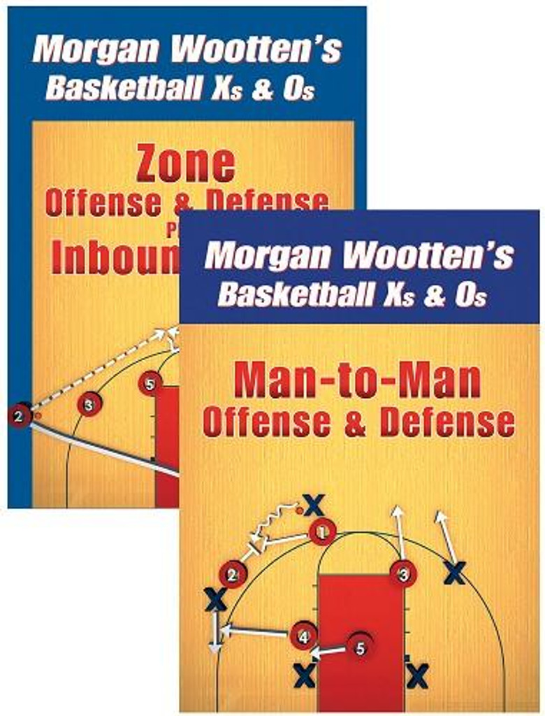 Morgan Wootten's Basketball X's and O's 2 DVD Package