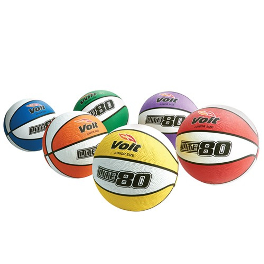 Voit Lite 80 Basketball Prism Pack - Junior Size