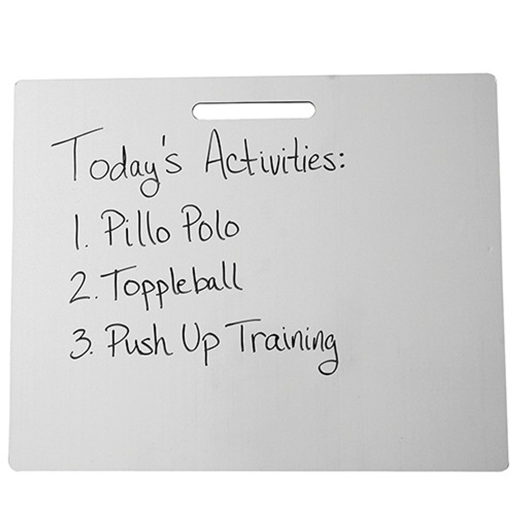 Portable Dry-Erase Board with Handle
