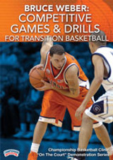 Bruce Weber: Competitive Games & Drills for Transition Basketball