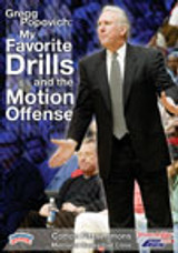 Gregg Popovich: My Favorite Drills and the Motion Offense