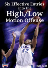 Bill Self: Six Effective Entries into the High/Low Motion Offense