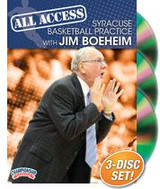 All Access Syracuse Basketball Practice with Jim Boeheim