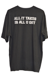 "Hoops U. ""All It Takes"" Performance Tee (Back)"